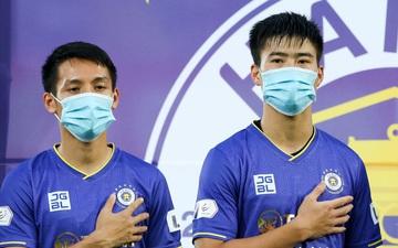 Duy Mạnh và đồng đội làm điều chưa từng có trước trận Hải Phòng - Hà Nội FC