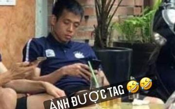Văn Quyết bị vợ troll hài hước vì bức ảnh của fan Hải Phòng
