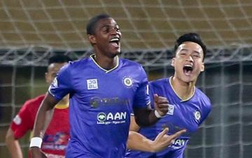 Bùng nổ 6 phút đầu trận, Hà Nội FC vẫn thắng nhọc trong ngày đặc biệt ở V.League