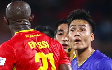 Tuyển thủ Việt Nam thách thức đối thủ cao to hơn, trọng tài phải can ngăn