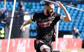 Benzema lập cú đúp, Real Madrid nhọc nhằn tiến sát ngôi đầu La Liga
