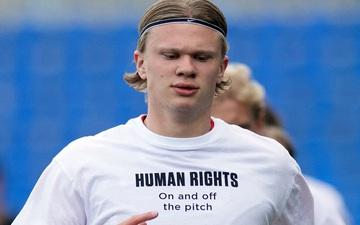 Na Uy quyết chơi lớn, tiếp tục mặc áo tẩy chay chủ nhà World Cup 2022, in cả tên các quốc gia ủng hộ