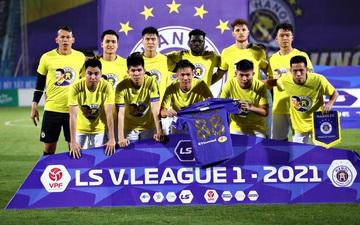 CLB Hà Nội có hành động đẹp với Hùng Dũng, khích lệ tinh thần trước trận đấu với Hồng Lĩnh Hà Tĩnh