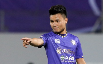 Quang Hải chưa khoẻ, Hà Nội FC mạo hiểm sử dụng vì rơi vào thế bí