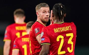 Không cần De Bruyne và Lukaku, Bỉ vẫn vùi dập Belarus bằng chiến thắng siêu đậm 8-0