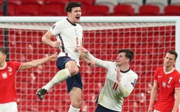Đội trưởng MU lập công muộn giúp Anh thắng Ba Lan