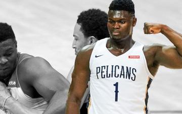 """Zion Williamson một tay """"huỷ diệt"""" Philadelphia 76ers không thương tiếc"""