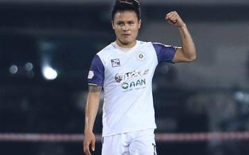 Quang Hải tỏa sáng, Hà Nội FC thắng đậm 4-0 Than Quảng Ninh trên sân nhà Hàng Đẫy
