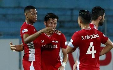 Đánh bại Than Quảng Ninh với cách biệt tối thiểu, Viettel tiếp tục bám đuổi đội đầu bảng HAGL
