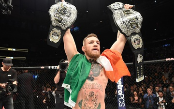 Conor McGregor yêu cầu UFC làm chiếc đai riêng để khoe độ giàu có