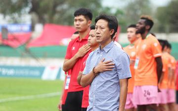 """HLV Nguyễn Thành Công: """"Chiến thắng này giúp các cầu thủ giải tỏa tâm lý"""""""