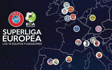 """Những điều cần biết về Super League, siêu giải đấu đe dọa biến Ngoại hạng Anh, Champions League thành """"giải cỏ"""""""