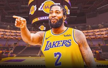 Bật móng chân trong ngày ra mắt, Andre Drummond gia nhập đội hình chấn thương của Lakers