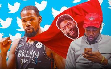 """Bảo vệ Anthony Davis, Kevin Durant tiếp tục """"trổ tài múa phím"""" trên MXH"""