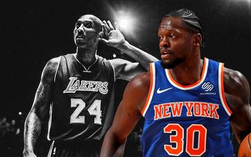 """Julius Randle cùng tiềm năng vượt bậc khởi nguồn bằng câu nói: """"Tôi muốn trở thành Kobe Bryant"""""""
