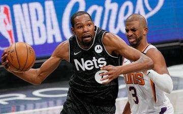 Song sát Kevin Durant - Kyrie Irving tỏa sáng, giúp Brooklyn Nets vượt qua Phoenix Suns