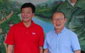HLV Park Hang-seo bất ngờ chúc mừng CLB Hải Phòng có chủ tịch mới