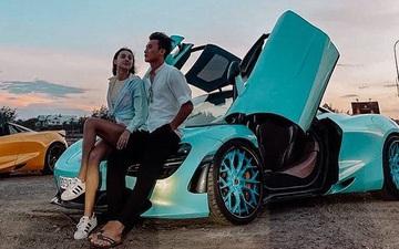Bùi Tiến Dũng khoe ảnh cùng bạn gái ngồi siêu xe hóng gió, bị Đoàn Văn Hậu vào xin đôi dép
