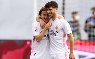 Vượt qua đen đủi với 3 lần bị từ chối bàn thắng, Real Madrid giành 3 điểm thuyết phục để áp sát ngôi đầu La Liga