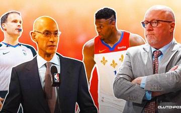 NBA phạt 50.000 USD với Phó chủ tịch điều hành New Orleans Pelicans vì phát ngôn gây bất lợi cho giải đấu