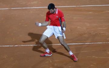 Djokovic thắng liên tiếp hai trận trong ít giờ để đấu Nadal tại chung kết Rome Masters
