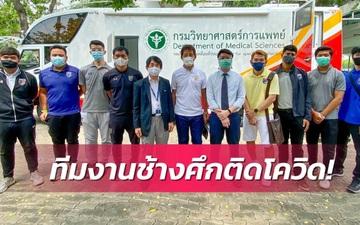 Tuyển Thái Lan tá hỏa khi có thành viên nhiễm Covid-19