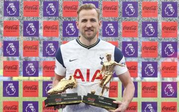 Harry Kane nhận giải Vua phá lưới Ngoại hạng Anh