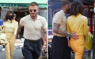 David Beckham kè kè bên bà xã khi cả hai cùng tới Mỹ, gây ấn tượng bằng loạt hành động cực ga lăng