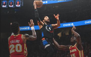 Derrick Rose nỗ lực gồng gánh bất thành New York Knicks ở Game 3 Playoffs 2021