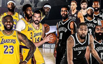 """Los Angeles Lakers và Brooklyn Nets, ai mới là đội bóng """"đáng ghét"""" nhất NBA?"""