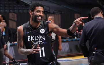 """Tiếp tục vi phạm luật """"né tránh"""" truyền thông, Kyrie Irving cùng Brooklyn Nets bị NBA sờ gáy"""
