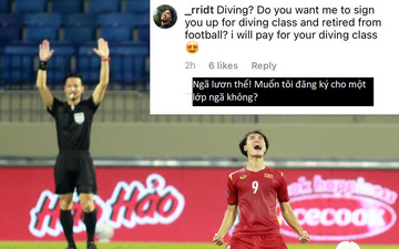 """Cổ động viên Malaysia tấn công trang cá nhân Văn Toàn, gọi anh là """"ngã lươn"""""""