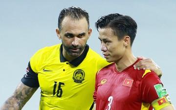 Quế Ngọc Hải liên tục bị cầu thủ Malaysia khiêu khích và cái kết bản lĩnh trên chấm phạt đền