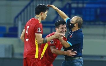 Chùm ảnh tuyển Việt Nam hân hoan với niềm vui chiến thắng Malaysia