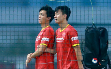 Tuấn Anh vẫn đi tập tễnh, khó tham dự trận UAE - Việt Nam