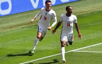 Sterling ghi bàn duy nhất giúp tuyển Anh giành được chiến thắng lịch sử tại Euro