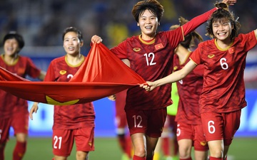 """Đội tuyển nữ Việt Nam """"sáng cửa"""" đi tiếp ở vòng loại Asian Cup nữ 2022"""