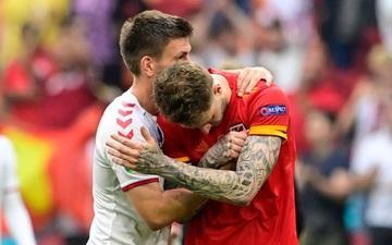 Cầu thủ Xứ Wales bật khóc sau thảm bại trước Đan Mạch tại Euro