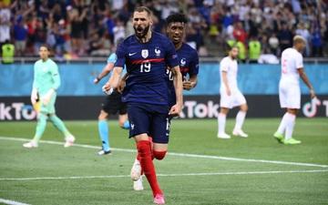 Video Euro 2020: Benzema đỡ bước một ảo diệu, gỡ hòa 1-1 cho tuyển Pháp