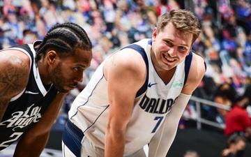 """Mavericks dẫn trước Clippers đầy bất ngờ trong ngày Luka Doncic thi đấu """"lên đồng"""""""