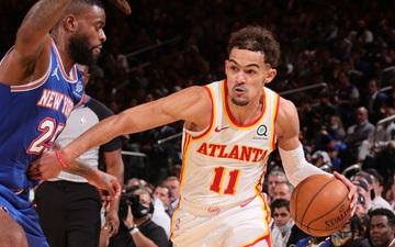 Trae Young ghi 36 điểm, tiễn New York Knicks ra khỏi Playoffs ngay tại thánh địa Madison Square Garden