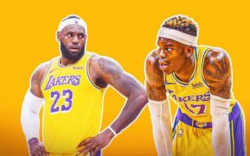 """""""Sóng gió"""" nơi hậu trường, Dennis Schroder liệu có còn tương lai ở Los Angeles Lakers?"""