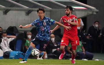 Vùi dập Tajikistan 4-1, Nhật Bản giành vé vào vòng loại thứ ba World Cup 2022