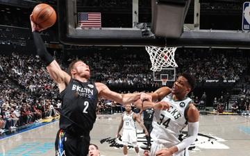 """Brooklyn Nets """"huỷ diệt"""" Milwaukee Bucks tại Game 2 bán kết miền Đông bằng cơn mưa 3 điểm"""
