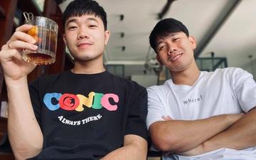 """Xuân Trường đăng ảnh và đi ăn với Minh Vương, Văn Toàn """" hờn dỗi"""" hài hước"""