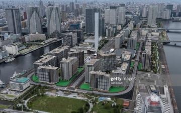 Làng vận động viên của Olympic Tokyo 2021 mở cửa trong ảm đạm