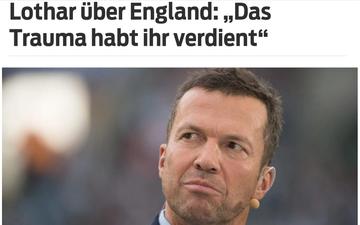 Huyền thoại Đức: Cầu thủ Anh xứng đáng phải chịu bi kịch thua đau ở chung kết Euro 2020