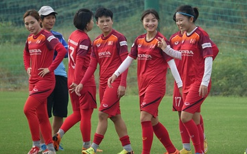 Đội tuyển nữ Việt Nam hội quân chuẩn bị cho vòng loại Asian Cup 2022