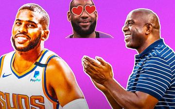 Magic Johnson: Chris Paul cần phải gọi ngay cho người bạn thân LeBron James