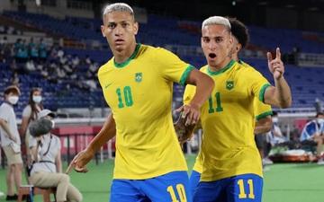 Brazil 4-2 Đức: Màn thị uy sức mạnh của ĐKVĐ Olympic